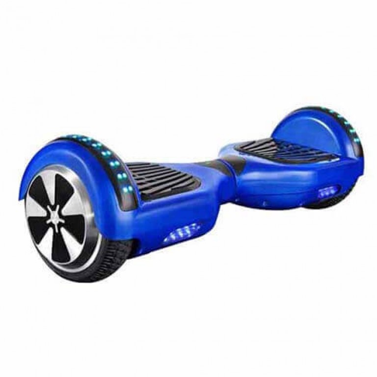 Hoverboard Blue - 6.5' - Bluetooth - LED Punchy